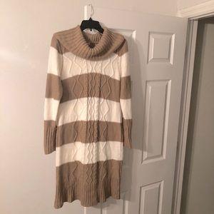 Olive+Oak Women's Acrylic Sweater Dress Size 2X